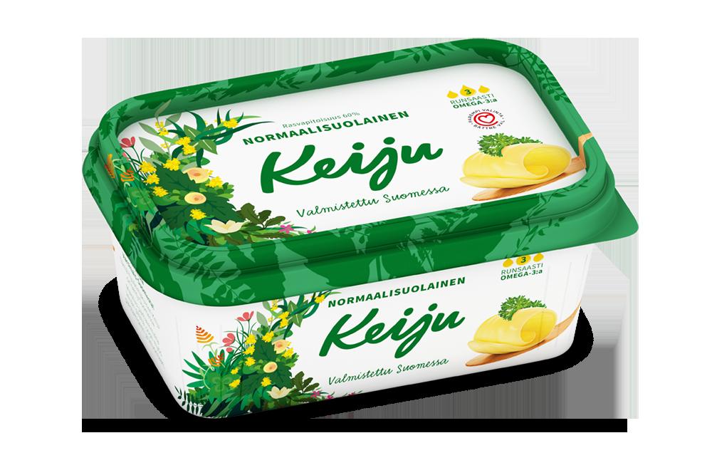 Keiju normaalisuolainen margariini 60 400 g
