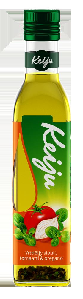Keiju sipuli, tomaatti & oreganoyrttiöljy 250 ml