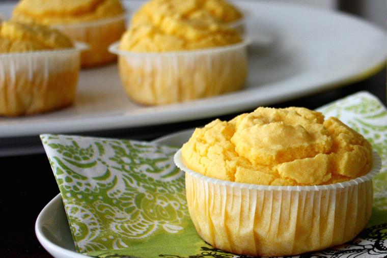 Keltaiset Keijun Maissimuffinssit
