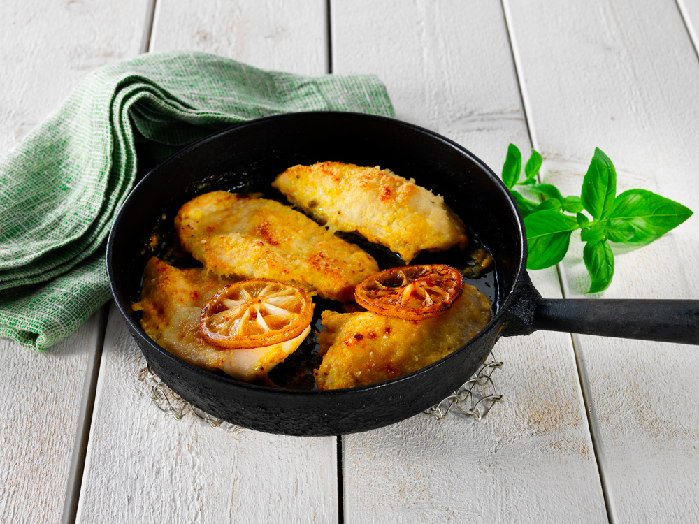 Sitruuna-parmesan -kana